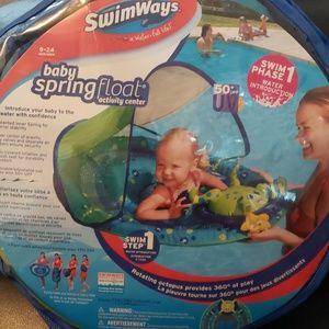 Baby float activity center
